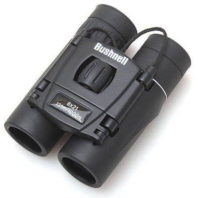Roof Prism Binocular Telescopes with Green Film Eyepiece Lens - Bushenll 8x21